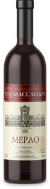 Вино ординарное красное полусладкое «Мерло»