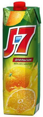 Сок «J7 Апельсиновый» с мякотью
