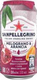 Газированный напиток «S. Pellegrino Melograno Aranciata»