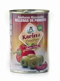 Оливки «Aceitunas Manzanilla Rellenas de Pimiento зеленые фаршированные перцем»