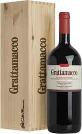 Вино красное сухое «Grattamacco» 2016 г., в подарочной упаковке