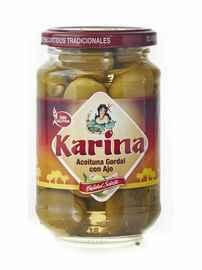 Оливки «Aceituna Gordal con Ajo зеленые фаршированные чесноком»