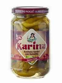 Оливки «Aceituna Gordal con Guindilla зеленые с перцем чили»