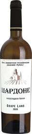 Вино белое полуслакдое «Шардоне Кубань»