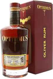 Ром «Opthimus 18 Anos» в подарочной упаковке