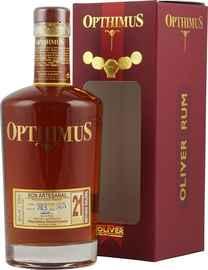 Ром «Opthimus 21 Anos» в подарочной упаковке