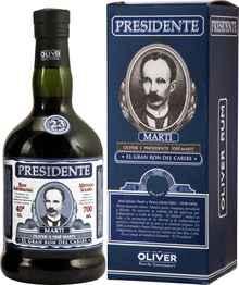 Ром «Presidente 23 Anos» в подарочной упаковке