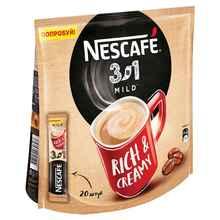Кофе растворимый «Nescafe 3 в 1 Мягкий кофе растворимый» 20 гр.