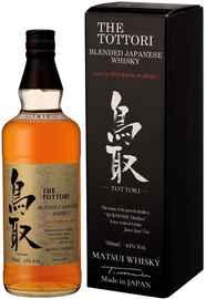 Виски японский «The Tottori Bourbon Barrel» в подарочной упаковке