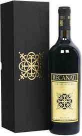 Вино красное сухое «Recanati Special Reserve» 2017 г., в подарочной упаковке
