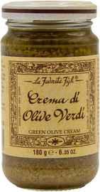 Паштет «La Favorita Fish Crema di Olive Verdi» 180 гр.