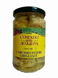 Овощные консервы «Carciofi Interi Grigliati» 280 гр.