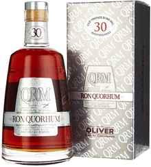 Ром «Quorhum 30 Years Old» в подарочной упаковке