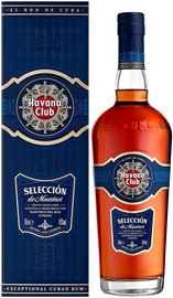 Ром «Havana Club Seleccion de Maestros» в подарочной упаковке