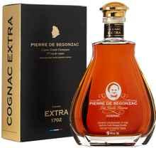 Коньяк французский «Pierre De Segonzac Cognac Grande Champagne 1er Cru EXTRA Tres Vieille Reserve» в подарочной упаковке