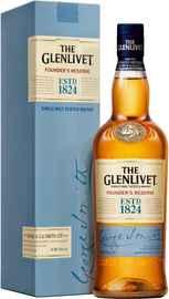 Виски шотландский «Glenlivet Founder's Reserve» в подарочной упаковке