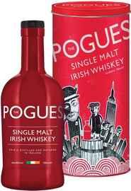 Виски ирландский «The Pogues Single Malt Irish Whiskey» в тубе
