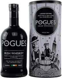 Виски ирландский «The Pogues» в тубе