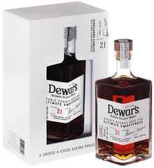 Виски Шотландский «Dewar's 21 Years Old» в подарочной упаковке