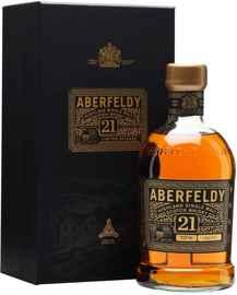 Виски шотландский «Aberfeldy 21 Years Old» в подарочной коробке