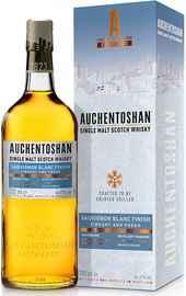 Виски шотландский «Auchentoshan Sauvignon Blanc Finish» в подарочной упаковке