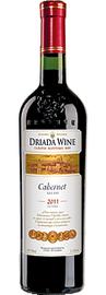 Вино красное сухое «Дриада Каберне» Болгария