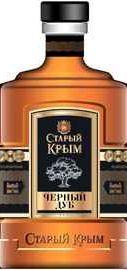 Коньяк российский «Старый Крым Черный Дуб»
