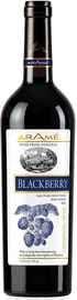 Вино столовое фруктовое ежевичное полусладкое «Arame Blackberry»