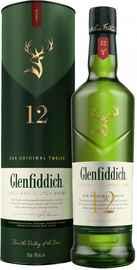 Виски шотландский «Glenfiddich 12 Years Old» в тубе