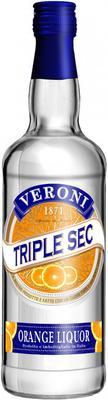 Ликер крепкий «Giarola Savem Veroni Triple Sec»