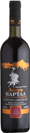 Вино красное полусладкое «Cabernet Sauvignon Abhazskie narty»