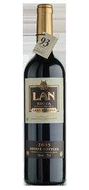Вино красное сухое «LAN Gran Reserva » 2005 г. с защищенным географическим указанием регион Риоха