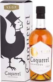 Кальвадос «Coquerel VSOP» в подарочной упаковке