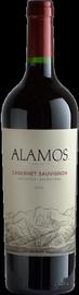 Вино красное сухое «Alamos Cabernet Sauvignon» защищенного наименования по происхождению регион Мендоcа
