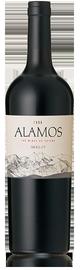 Вино красное сухое «Alamos Merlot» защищенного наименования по происхождению регион Мендоcа