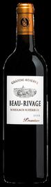 Вино красное сухое «Beau Rivage Premium Grande Reserve» 2011 г. географического наименования регион Бордо