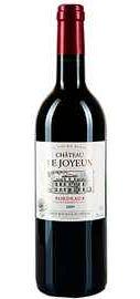 Вино красное сухое «Chateau Le Joyeux» защищенного наименования по происхождению регион Бордо