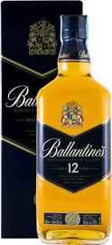 Виски шотландский «Ballantine's 12 Years Old» в подарочной упаковке