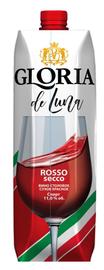 Вино столовое красное сухое «Gloria de Luna Red Dry (Tetra Pak)»