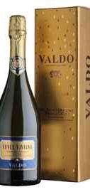 Вино игристое белое полусухое «Valdo Cuvee Viviana Valdobbiadene Superiore di Cartizze» в подарочной упаковке