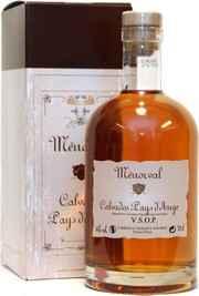 Кальвадос французский «Menorval Pays d'Auge VSOP» в подарочной упаковке