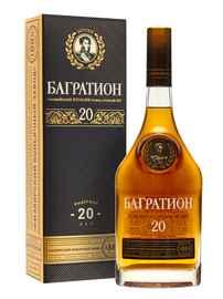 Коньяк российский очень старый «Багратион ОС 20-летний» в подарочной упаковке