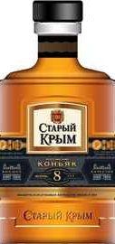 Коньяк российский «Старый Крым 8-летний»