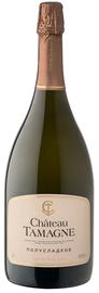 Вино игристое белое полусладкое «Шато Тамань»