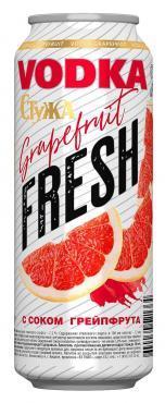Напиток слабоалкогольный «Стужа Вкус Фреш Грейпфрут с водкой» в жестяной банке