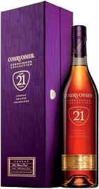 Коньяк французский «Courvoisier 21 Years Old» в подарочной упаковке