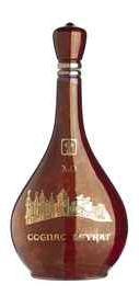 Коньяк «Leyrat XO» в фарфоровой бутылке