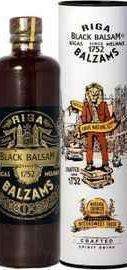 Ликер «Riga Black Balsam» в тубе