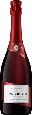 Вино игристое красное сладкое «Цимлянское»