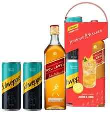 Виски шотландский «Johnnie Walker Red Label» + 2 банки Schweppes Bitter Lemon сильногазированный